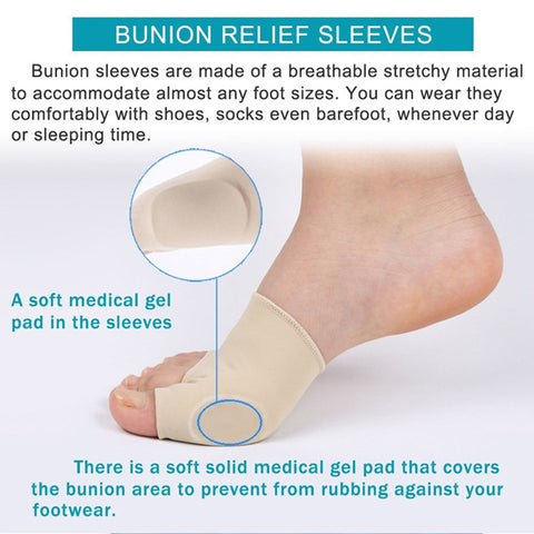 Image of 7Pcs/Set Bunion Corrector & Relief Protector Sleeves Kit