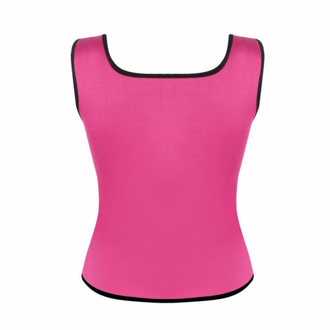Image of Shaper - Neoprene Sweat Waist Trainer Vest For Weight Loss Women Slimming Shirt Body Shaper