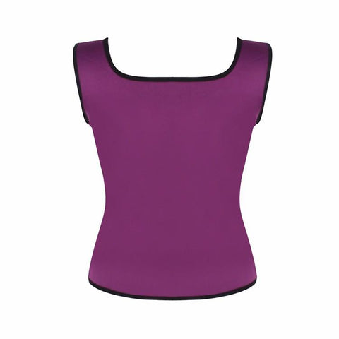 Shaper - Neoprene Sweat Waist Trainer Vest For Weight Loss Women Slimming Shirt Body Shaper