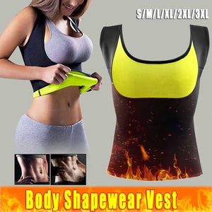 Sauna Vest Neoprene Slimming Waist Trainer Body Shaper