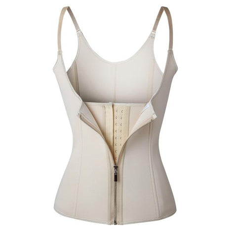 Image of Women's Underbust Corset Waist Trainer Cincher With Adjustable Straps