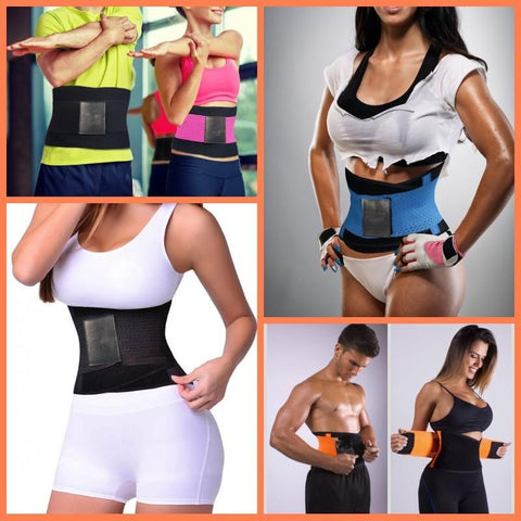 Image of Women Waist Trainer Belt Belly Wrap - Trimmer Compression Band