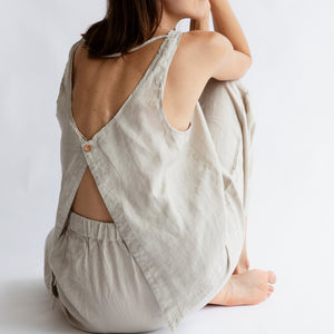 The Moss Open Back Cami