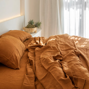 Raw Tobacco Pillowcase Set