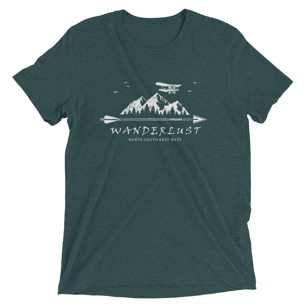 Wanderlust | Republic of Flight | Unisex Triblend Tee - Republic of Flight