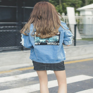Where Is My Mind Jean Jacket - Foxy Fashions