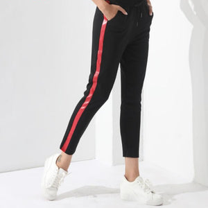 Harem Striped Pants - Foxy Fashions