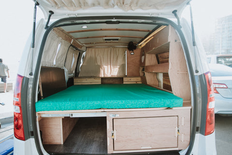 The Van Box 2.0 Custom DIY camper