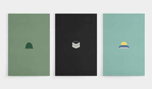 Minimal Mosque Bundle - 3 set
