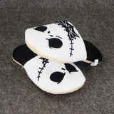 "11"" 28cm Jack Skellington Plush Slippers The Nightmare Before Christmas Shoes Warm Winter Stuffed Shoes Anime Adult Slipper - daily stop & shop"