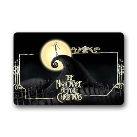 CHARMHOME Custom Nightmare Before Christmas Indoor / Outdoor/ Shower / Floor / Bathroom Mat Rug - daily stop & shop