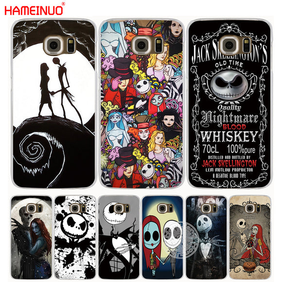 HAMEINUO Jack&Sally Nightmare Before Christmas cell phone case cover for Samsung Galaxy S7 edge PLUS S8 S6 S5 S4 S3 MINI 1 - daily stop & shop