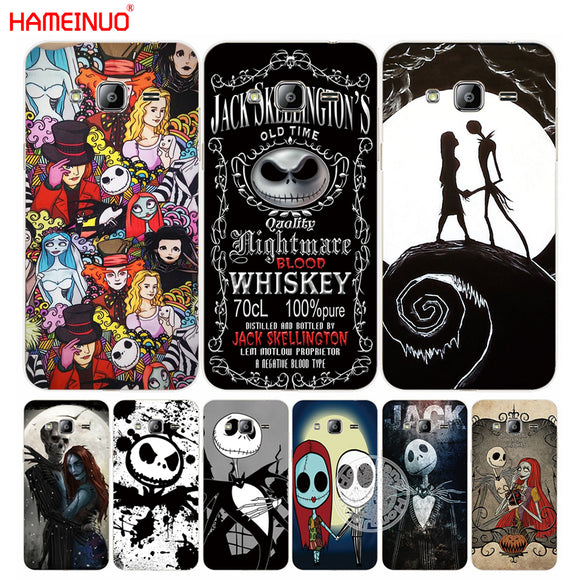 HAMEINUO Jack&Sally Nightmare Before Christmas cover phone case for Samsung Galaxy J1 J2 J3 J5 J7 MINI ACE 2016 2015 1 - daily stop & shop