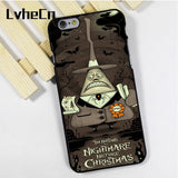 LvheCn phone case cover fit for iPhone 4 4s 5 5s 5c SE 6 6s 7 8 plus X ipod touch 4 5 6 Nightmare Before Christmas Tim Burton - daily stop & shop