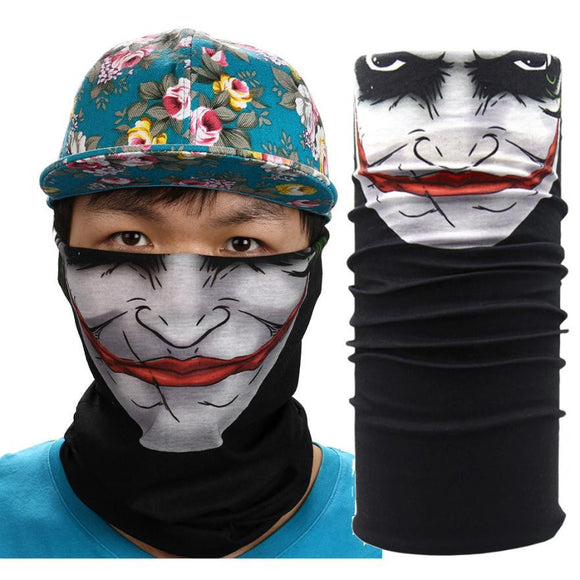 New Outdoor Sports Cycling Face Mask Warmer Cycling Bike Bicycle Riding Head Scarf Halloween Scarves Bandana #EW