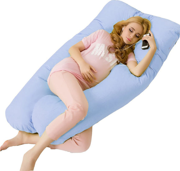 Big U Type Pregnancy Pillows Body Pillow for Pregnant Women Best For Side Sleepers Removable Big Pregnancy Pillow For Neck - daily stop & shop