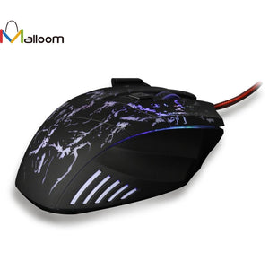 Malloom Best Gaming Mouse Wired Optical Positioning Rechargeable Finger mouse 5500 DPI  For Computer Pc Laptop
