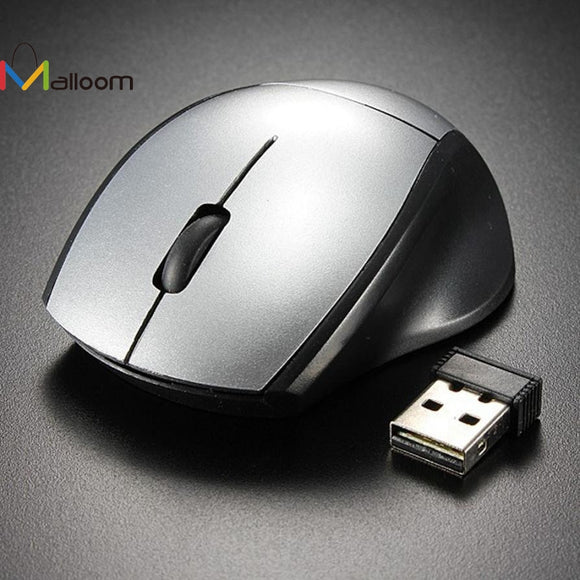 Malloom 2017 Mini 2.4GHz Gaming Mouse 2000 DPI Mice Optical Wireless Mouse Mice Cordless USB Receiver PC Computer for Laptop - daily stop & shop