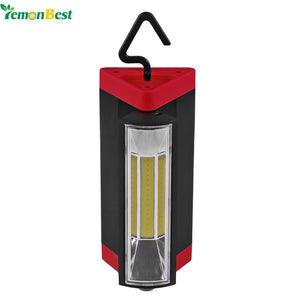 3W COB LED Camping Led Lantern Emergency Light with Rotation Triangle Shape for Tent Home Camping - daily stop & shop