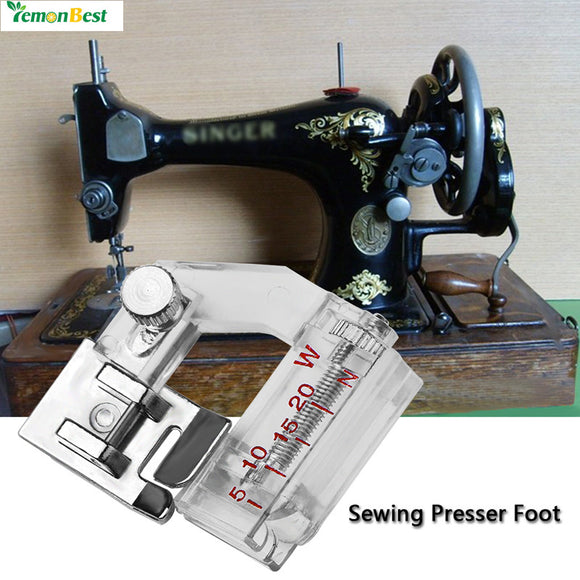 LemonBest Snap-on Bias Binder Presser Foot Binding Feet Sewing Machine Attachment Accessory for All Low Shank Singer Janome Bro - daily stop & shop