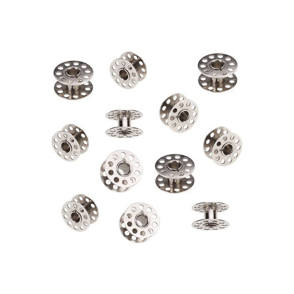20pcs 20mm Diameter Domestic Sewing Machine Metal Bobbins for Brother /Singer /Toyota /Janome - daily stop & shop