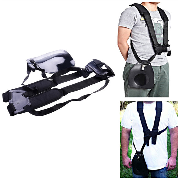 Comfort Strap Double Shoulder for Brushcutters/ Trimmers/ Strimmer Harness Garden Brush Cutter Lawn Mower Nylon Belt - daily stop & shop