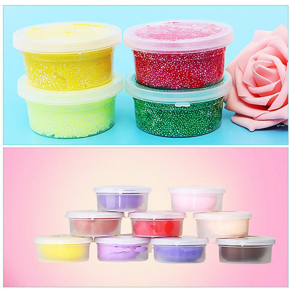 12 Pc Slime Storage Containers Foam Ball Storage Cups Containers With Lids - daily stop & shop