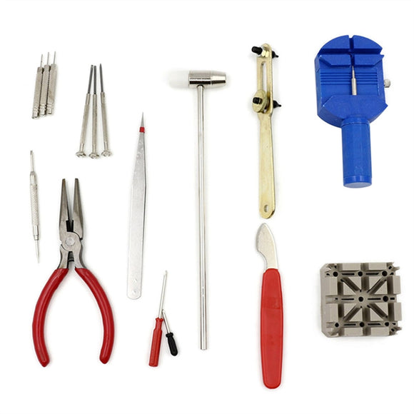 16pcs Professional Watch Repair Tool Kit Watch Link Removal Tool Set - daily stop & shop
