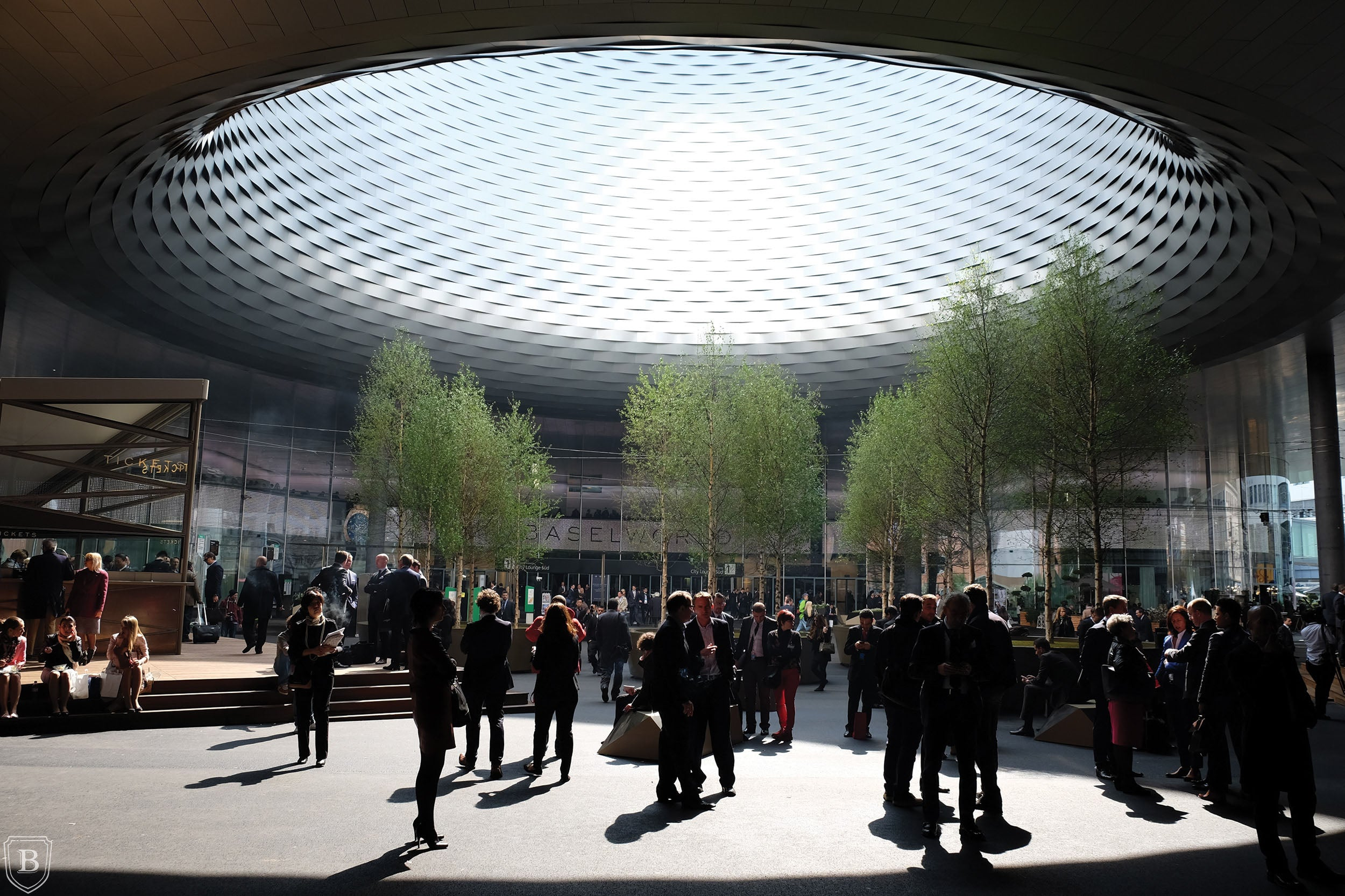Baselworld Messeplatz