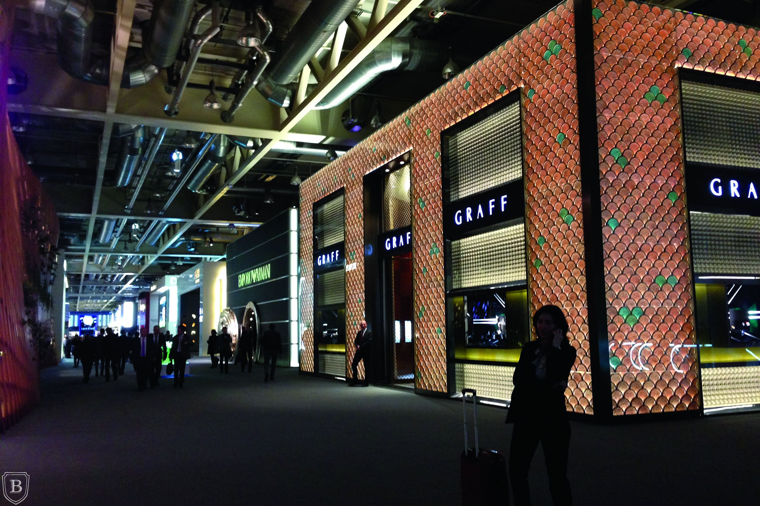Booths at Baselworld