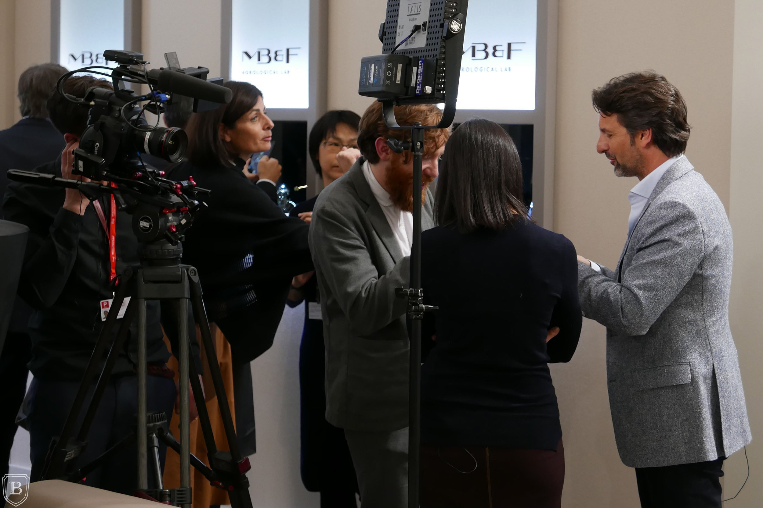 Maximilian Büsser meets the press