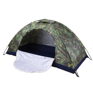 Ultralight Camouflage Portable Camping Tent Sun Shade Shelter For Outdoor  Hiking Fishing U0026 Travelling