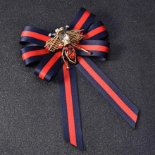 Rosewood Luxe Brooch Red and Blue