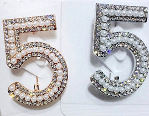 No.5 Luxe Brooch