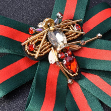 Rosewood Luxe Brooch Green & Red