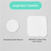 NOLEO Organic Cotton Pads (Pack of 12)