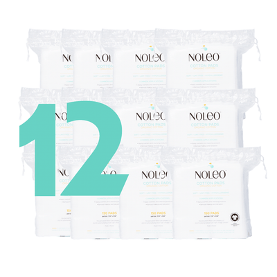 NOLEO NOLEO Organic Cotton Pads (Pack of 12)