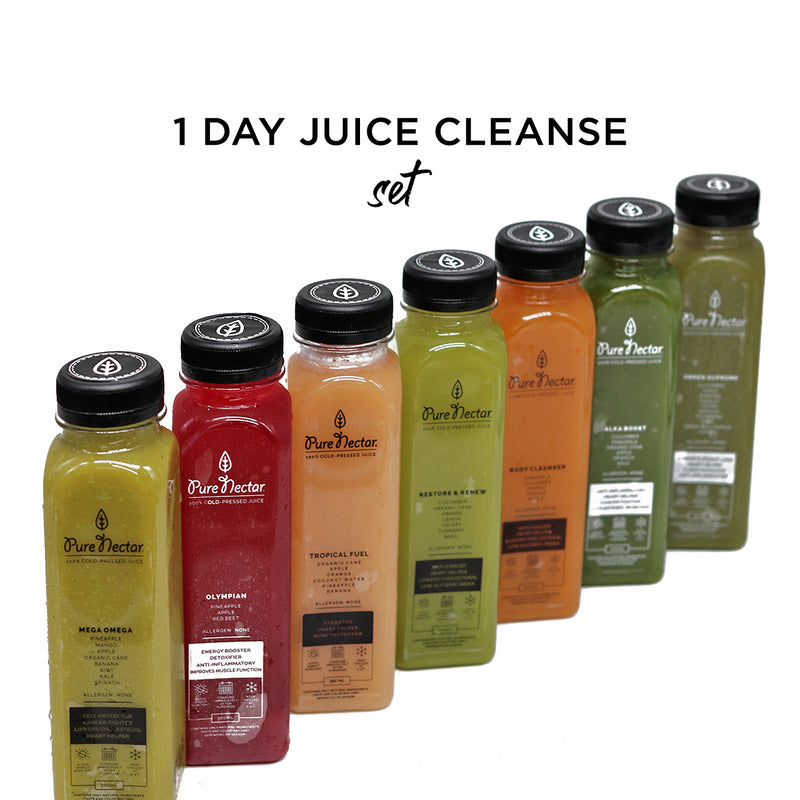 1-Day Juice Cleanse Set: Cellular Renewal