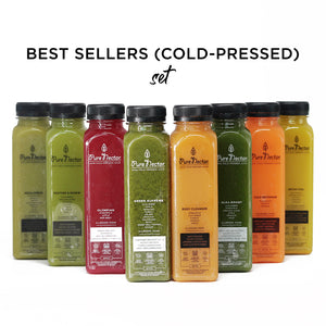 Best Sellers Set Cold Pressed