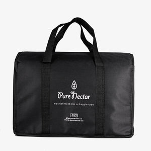 Pure Nectar Black Thermal Bag
