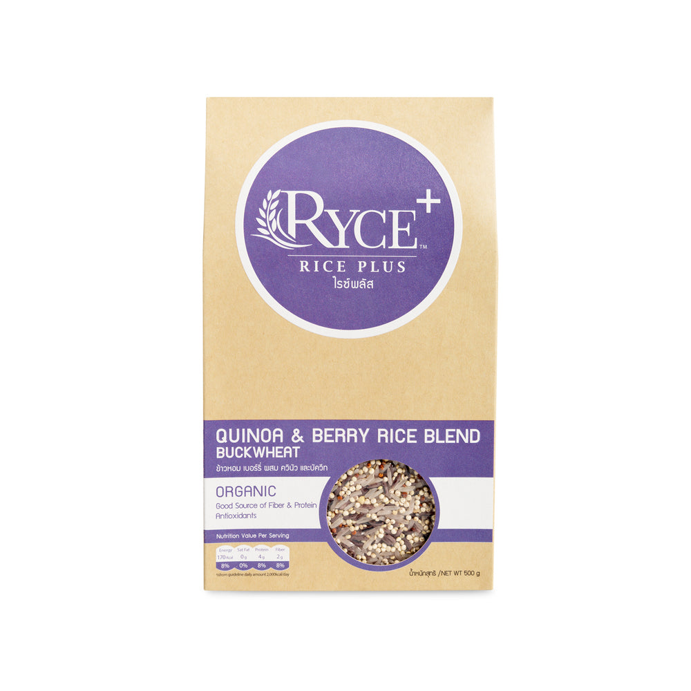 QUINOA & BERRY RICE BLEND BUCKWHEAT (500g)