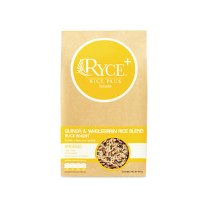 QUINOA & WHOLEGRAIN RYCE BLEND BUCKWHEAT