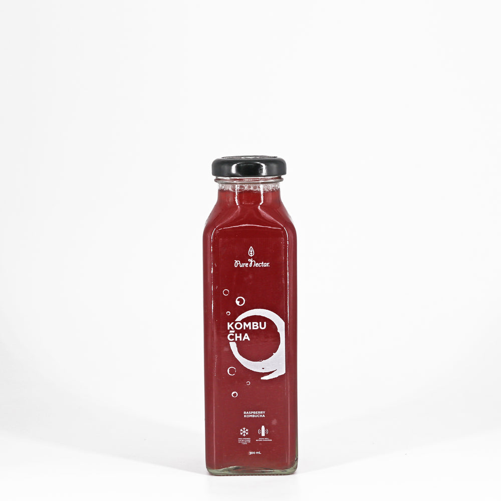 RASPBERRY KOMBUCHA (300mL)