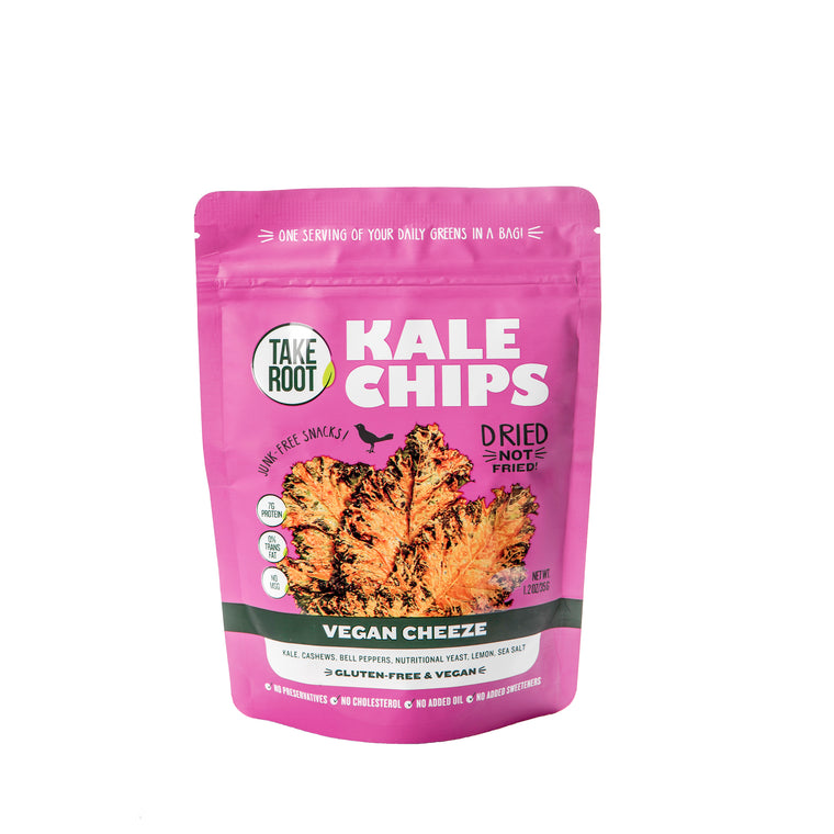 TAKE ROOT VEGAN CHEEZE KALE CHIPS