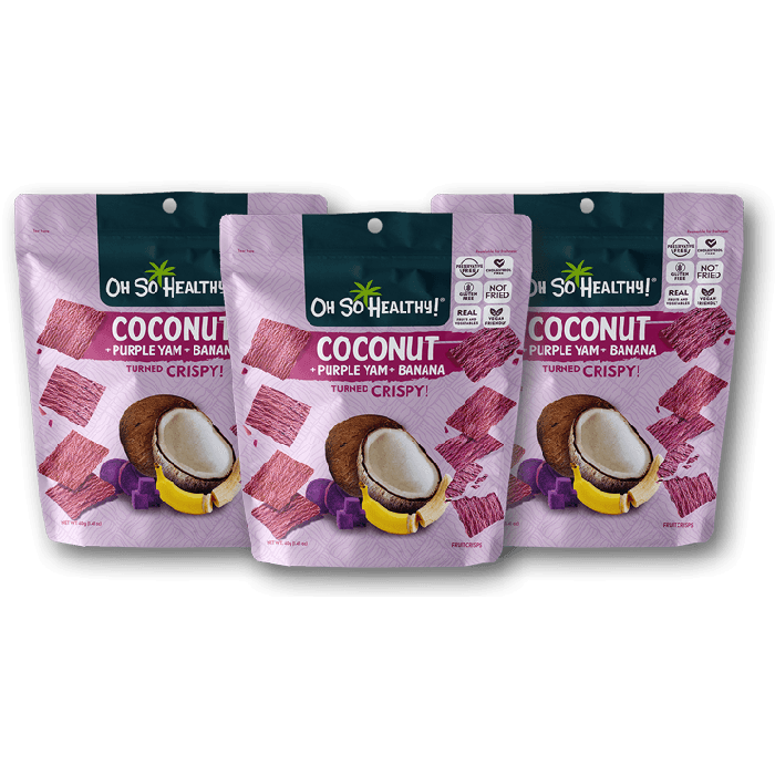 Load image into Gallery viewer, COCONUT FRUIT CRISPS 3 PACK