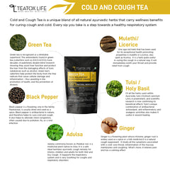 Cold & Cough Relief Green Tea