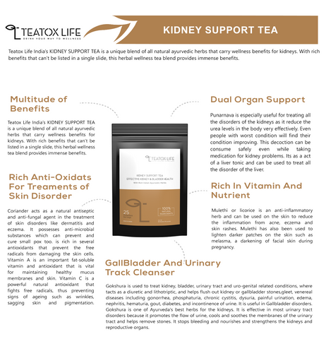 Kidney Stone Cleanse Tea