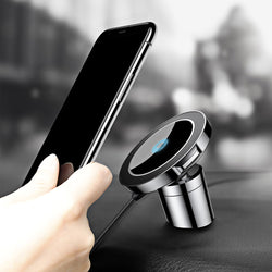 Baseus Qi Car Wireless Charger Magnetic Phone Holder