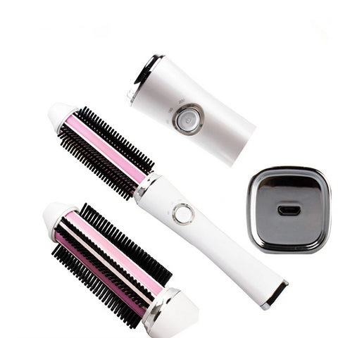 2 in1 Wireless Electric Hair Straightener