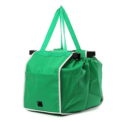 Clip-To-Cart Grocery Shopping Bag